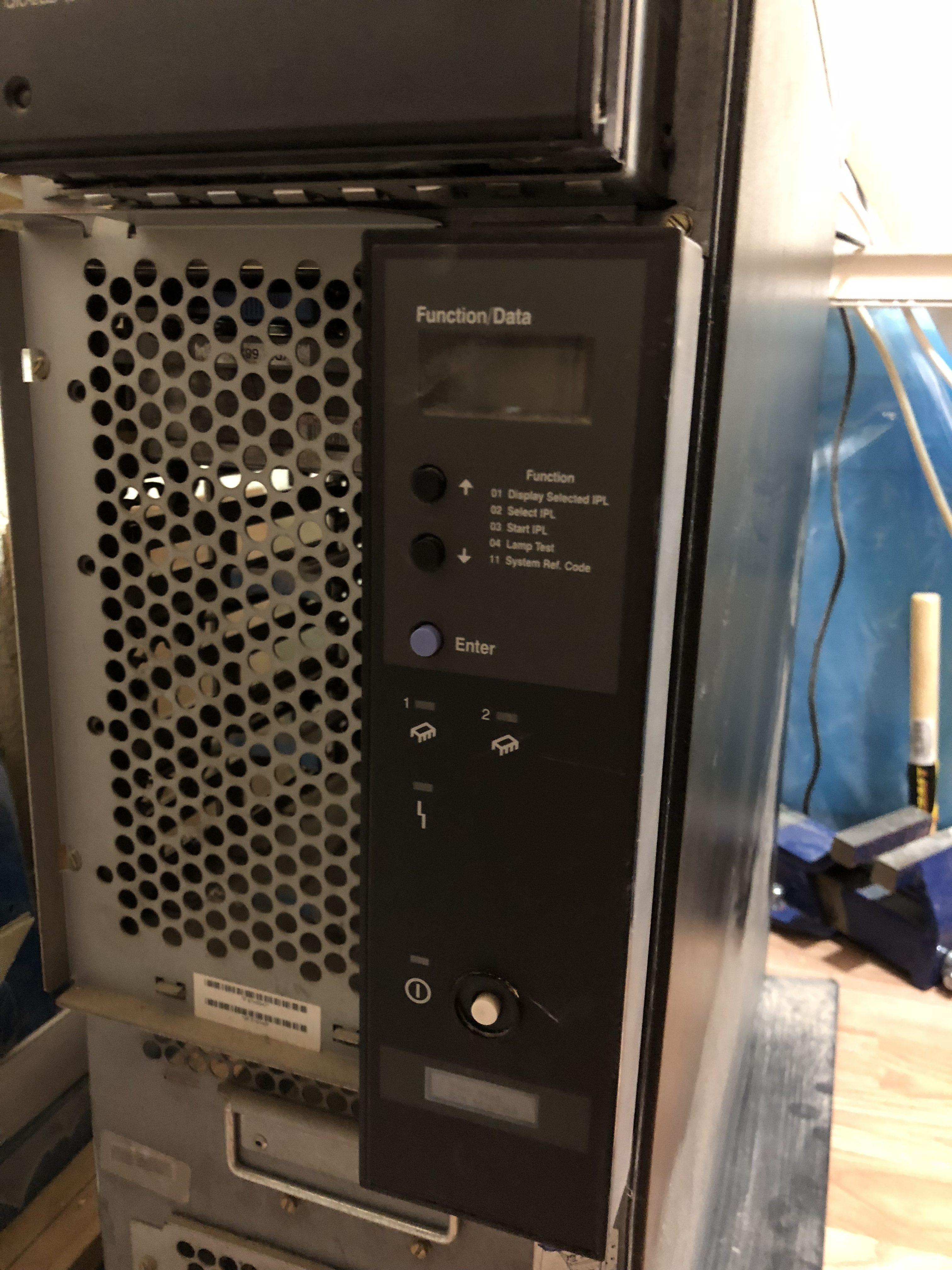 Refurbish an abandoned IBM as 400 e machine – day #1 – ModernHackers com